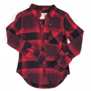 NWT Abercrombie & Fitch Buffalo Check Flannel